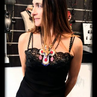 Collier Bambi mannequin