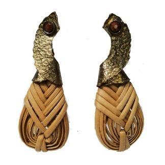 Boucles d'oreillesosier-Boucles d'oreilles fantaisie(Dimitriadis-Louise d'or-Digne les Bains