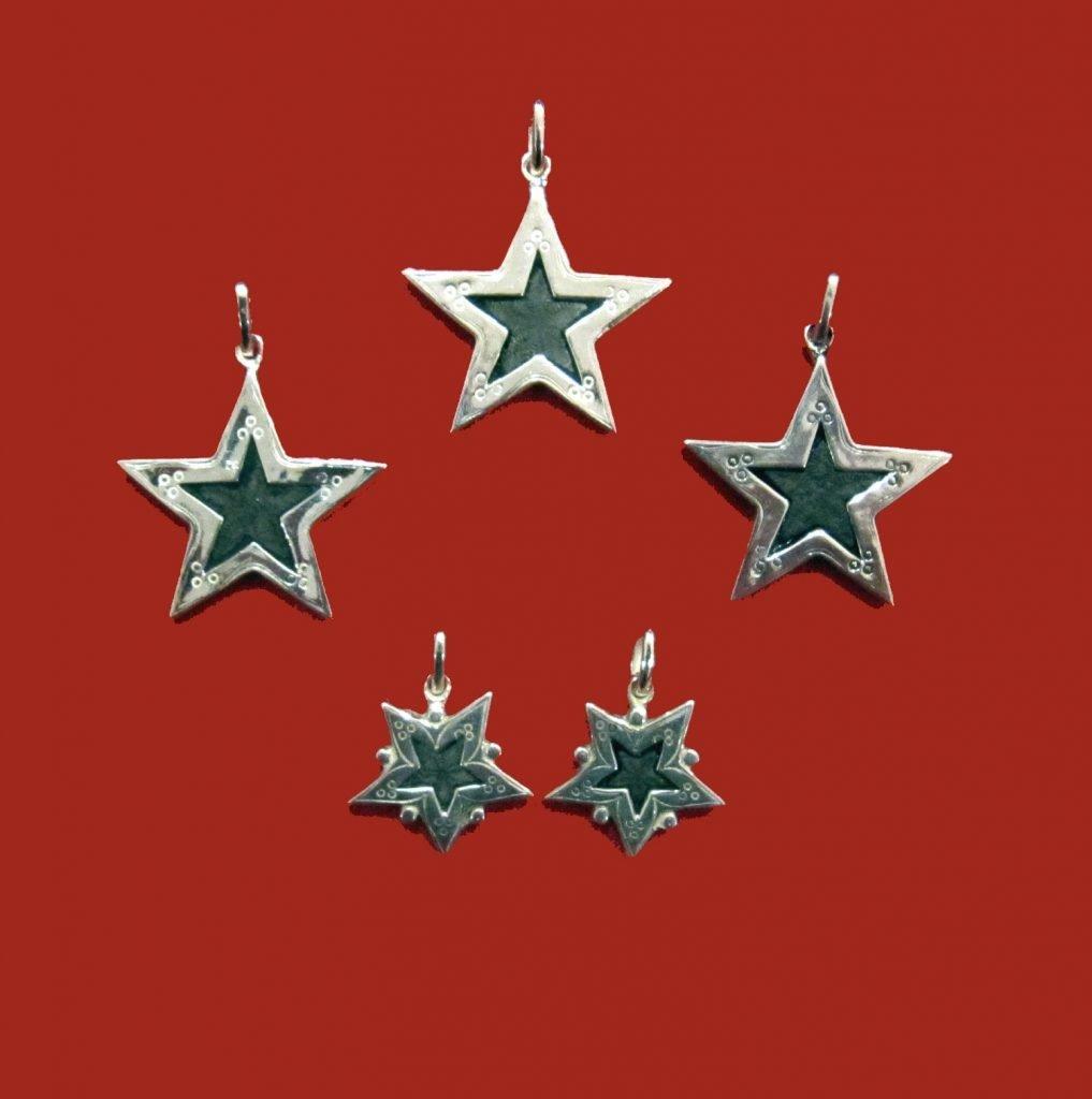 étoile Saint Vincent-Louise d'or-colliers-médailles