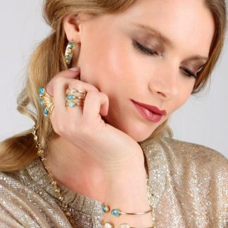 Niiki Paris-Bracelet fin-Jade-Louise d'or-Digne les Bains