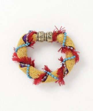 Photo Dimitriadis bracelet tissu traitée