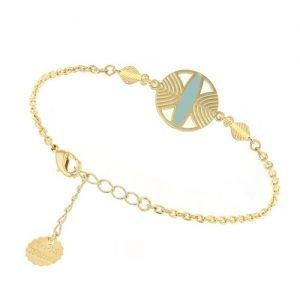 bijoutiers créateurs-bracelet campa-Laëti Trëma-Louise d'or