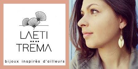 bijoutiers créateurs-logo-portrait-Laëti Trëma-marque