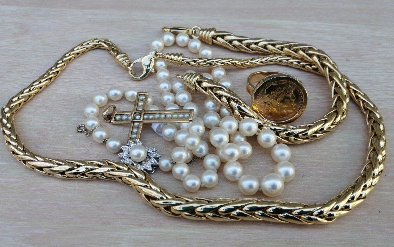 bijou ancien-Bijoux d'occasion-Louise d'or