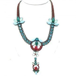 collier princesse-CollierSwarovski-Dimitriadis-Louise d'or-Dine les bains