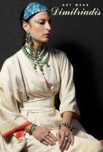 bijoutiers créateurs-Dimitriadis-Louise d'or-défilé