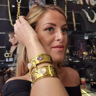 manchette Niiki paris-Louise d'or-Digne les Bains