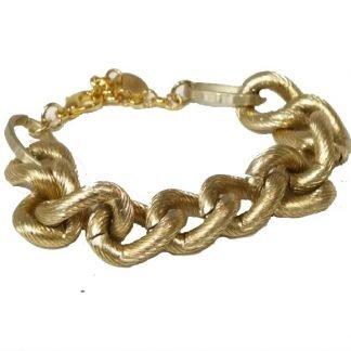Bracelet femme-Dimitriadis-Bracelet chaine doré-Bijou Digne les Bains-Louise d'or