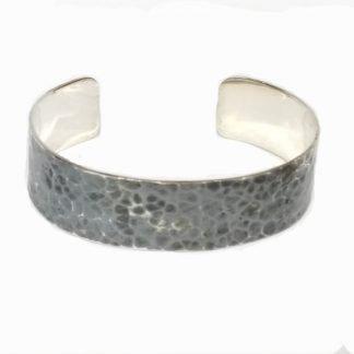 Bracelet homme argent-Demi jonc argent925-Louise d'or-Digne les Bains-Louise d'or