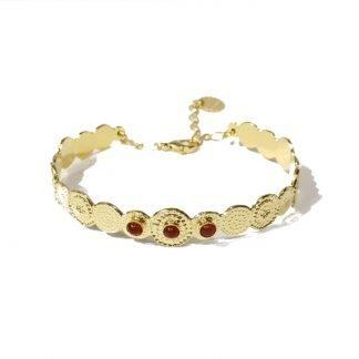 Bracelet jonc-Laëti Trëma-Louise d'or-Digne les Bains