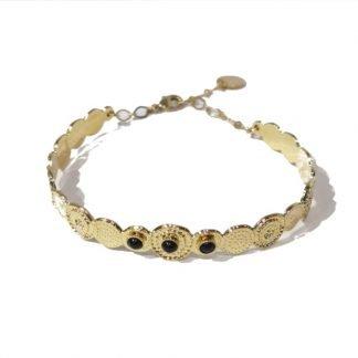 Bracelet jonc-Collection Origines-Laëti Trëma-Louise d'or-Digne les Bains