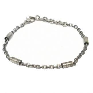 bracelet acier-Bracelet fin homme-Bijou homme-Digne les Bains-Louise d'or