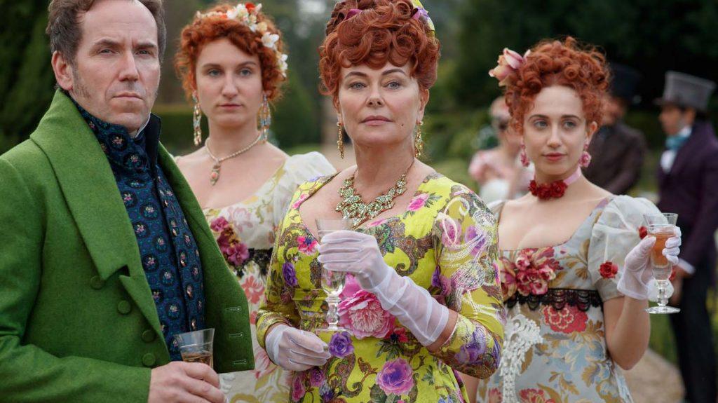 Les bijoux de Brigerton-Louise d'or-costumes