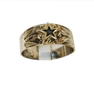 bague argent occasion étoile de St vincent-étoile de st vincent-étoile de st vincent Digne les bains-Louise d'or