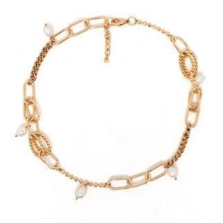collier perles-collier fantaisie-Collier Nali-Digne les bains-Louise d'or