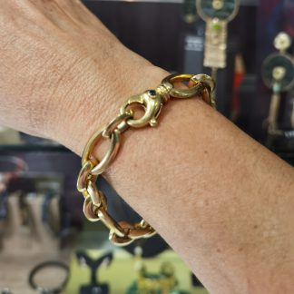 Bracelet or 18 k -Bracelet chaine or 750/000-Digne les Bains-Bijouterie Digne les Bains